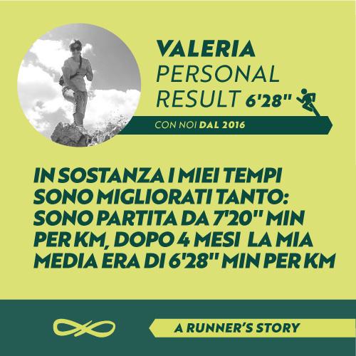 Opinioni su Scuola Podistica - l'esperienza di Valeria