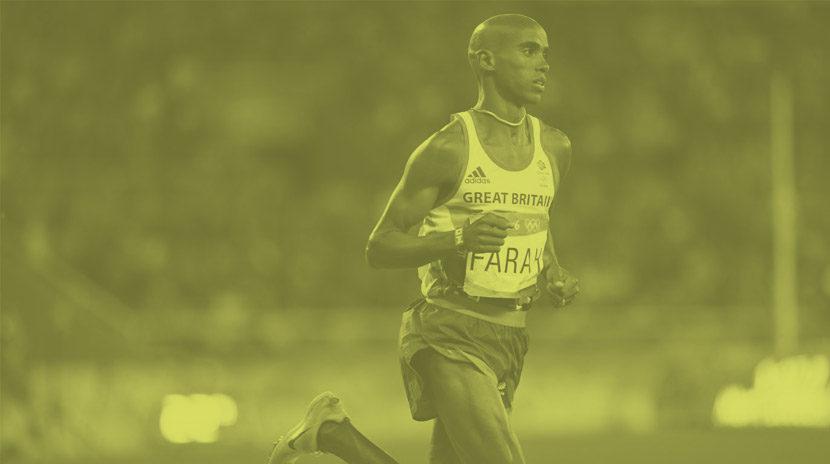 profilo di un elite runner: Mo Farah
